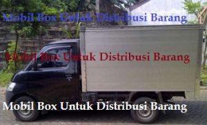 Mobil Box Untuk Distribusi Barang