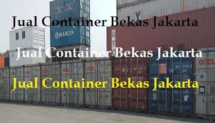 Jual Container Bekas Jakarta