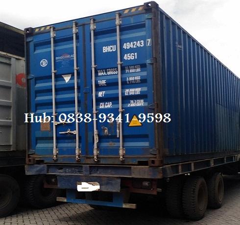 Sewa Truk Container 20 40 feet Jakarta