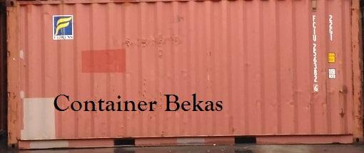 Container 20 Feet Bekas